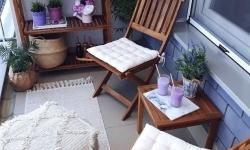 26 de idei de amenajare pentru un balcon mic