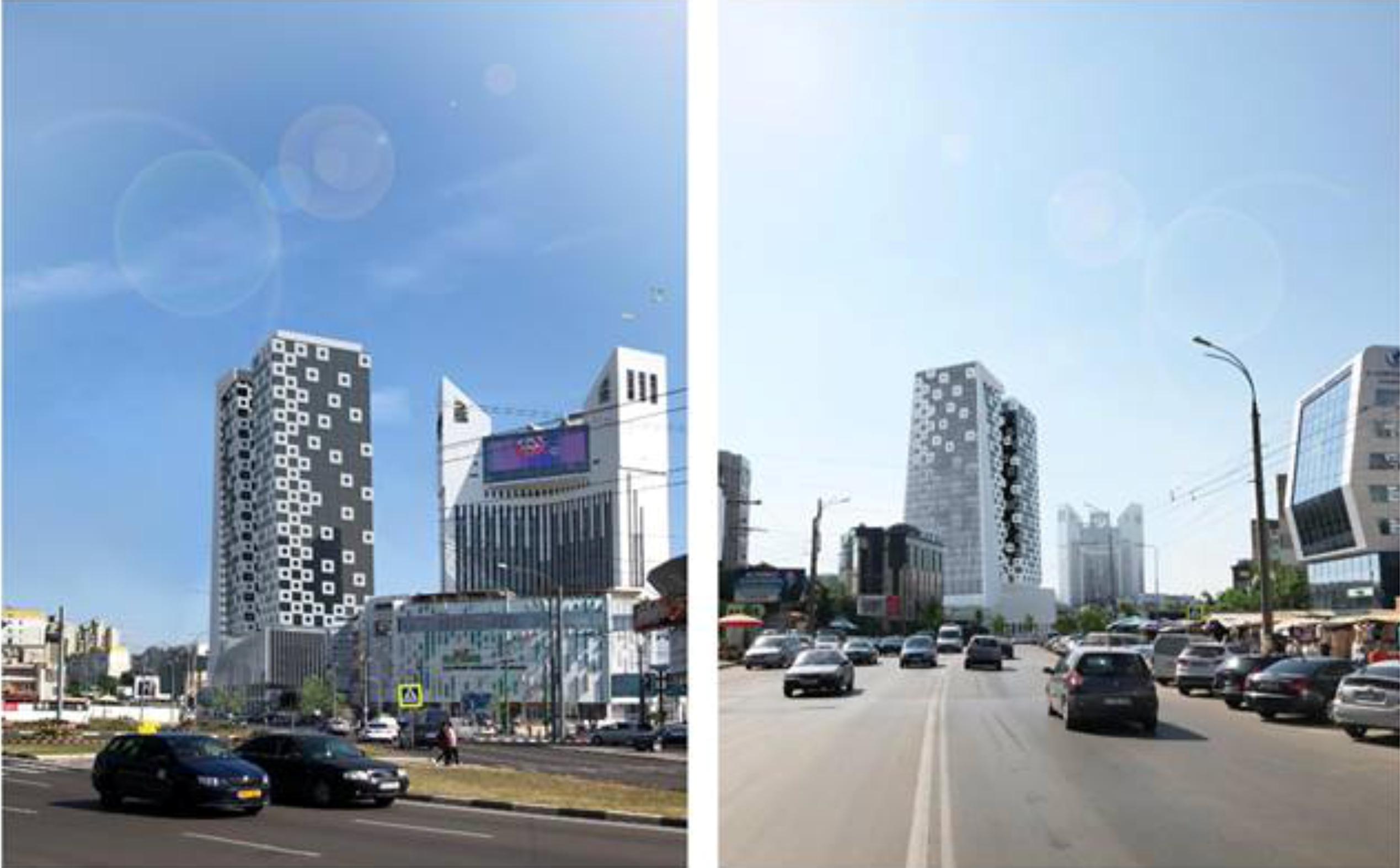 O clădire cu 32 de etaje urmează să fie construită în centrul Capitalei