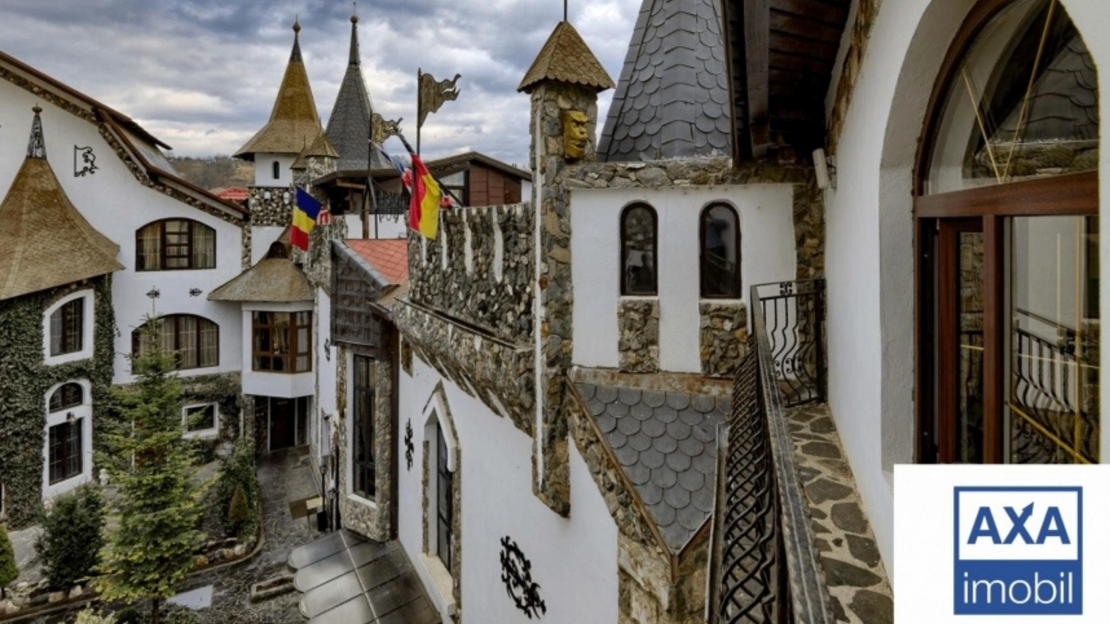 """Afacere activă - Complexul Hotelier Medieval """"Prințul Vânător"""""""